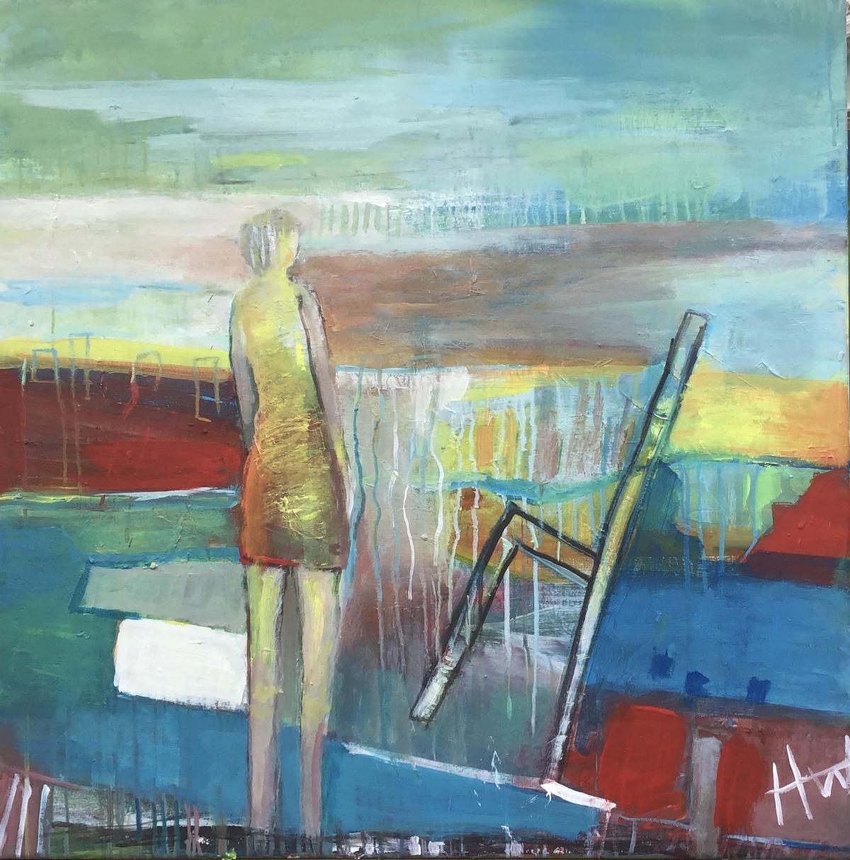 Kunst: balans van kunstenaar Heleen Wilke