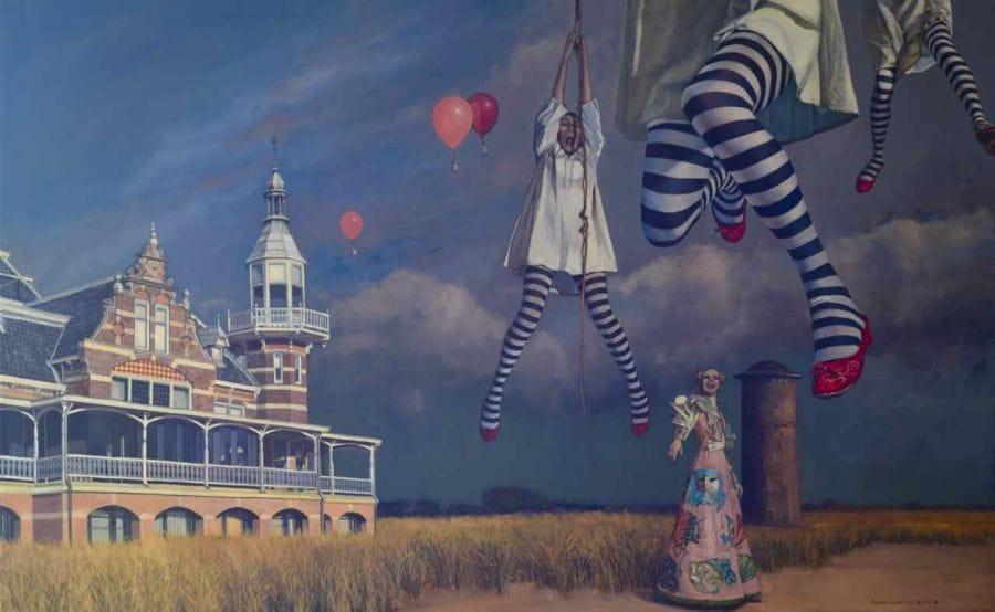 Kunst: Ballunatics 7 van kunstenaar Roeland van der Kley