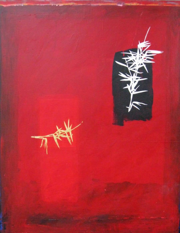Kunst: bamboe van kunstenaar Jef Huibers