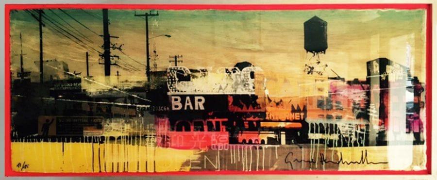 Kunst: Bar van kunstenaar  George Heidweiller