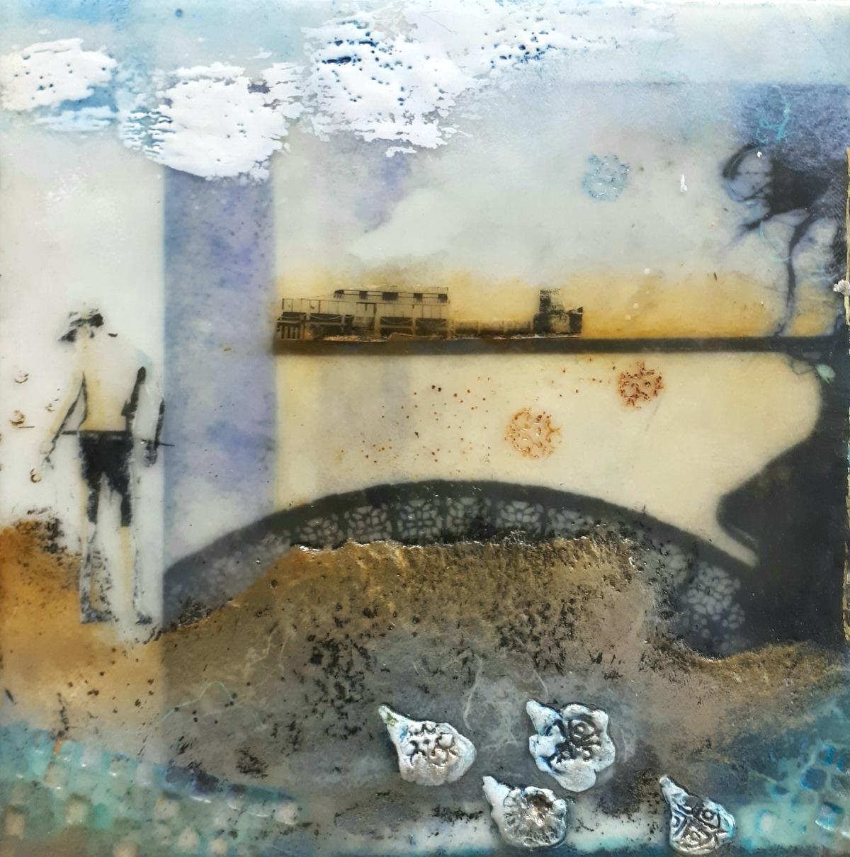 Kunst: Beachboy van kunstenaar Trijnie Mohlmann