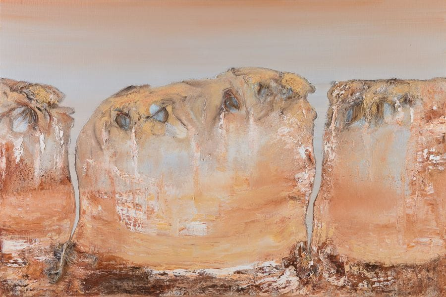 Kunst: Becoming an adult van kunstenaar Els Vegter