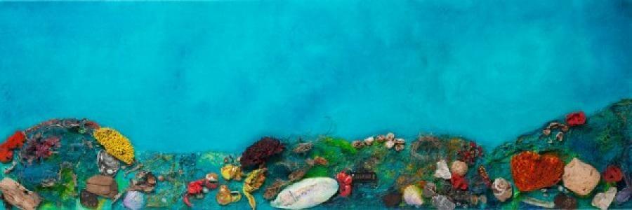 Kunst: Bedreigd koraal van kunstenaar Els Vegter