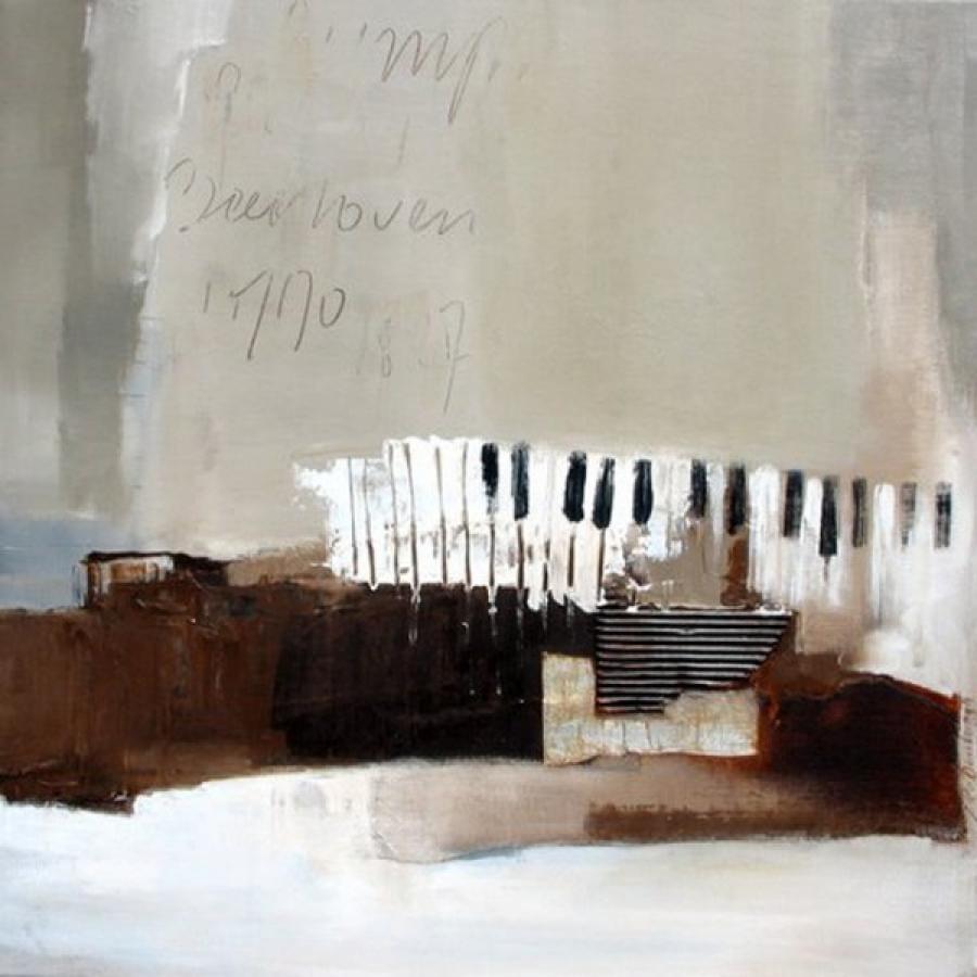 Kunst: Beethoven van kunstenaar Lydia van Domburgh