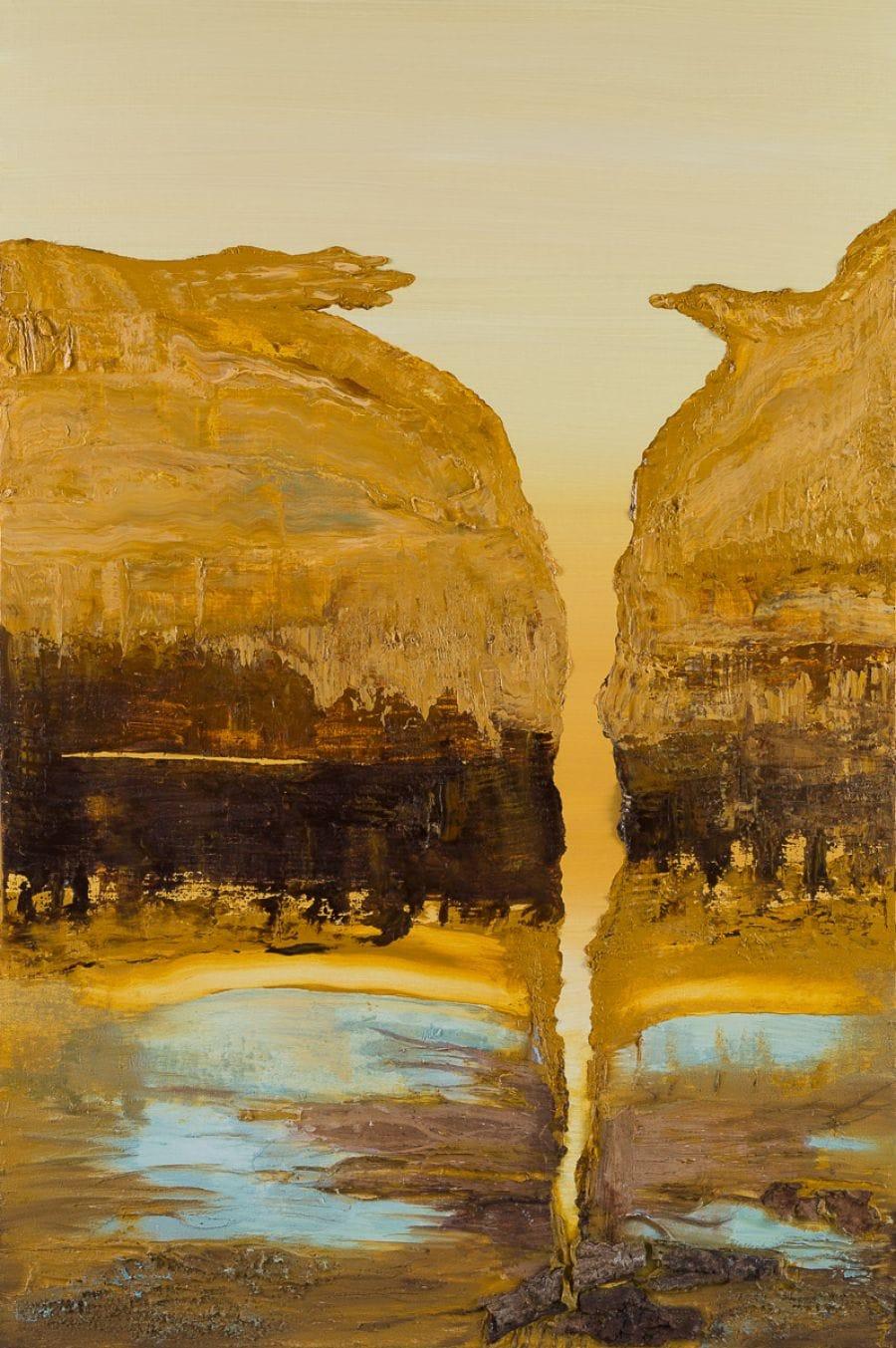 Kunst: Between earth and water van kunstenaar Els Vegter
