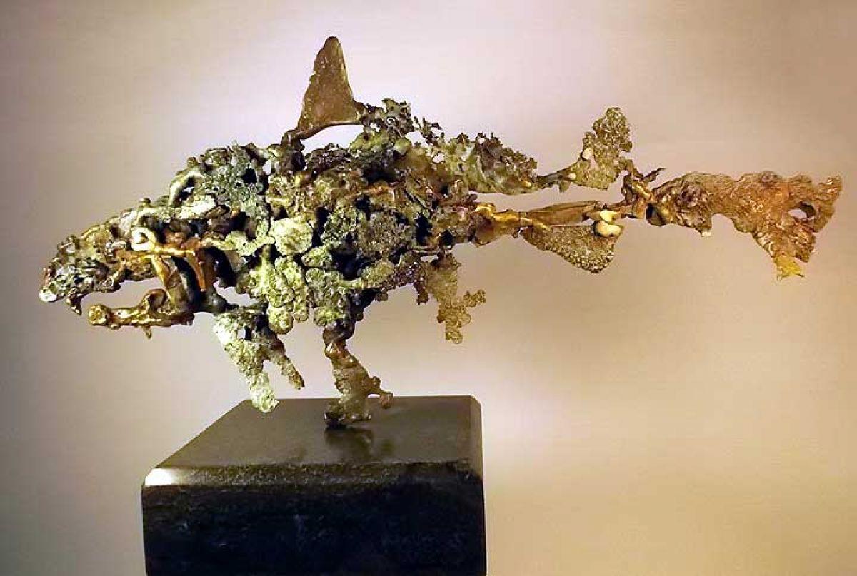Kunst: Bezoeker uit de diepte van kunstenaar Eric van Wattum