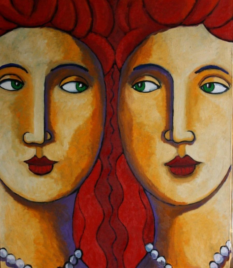 Kunst: Big sisters van kunstenaar Jacques Tange