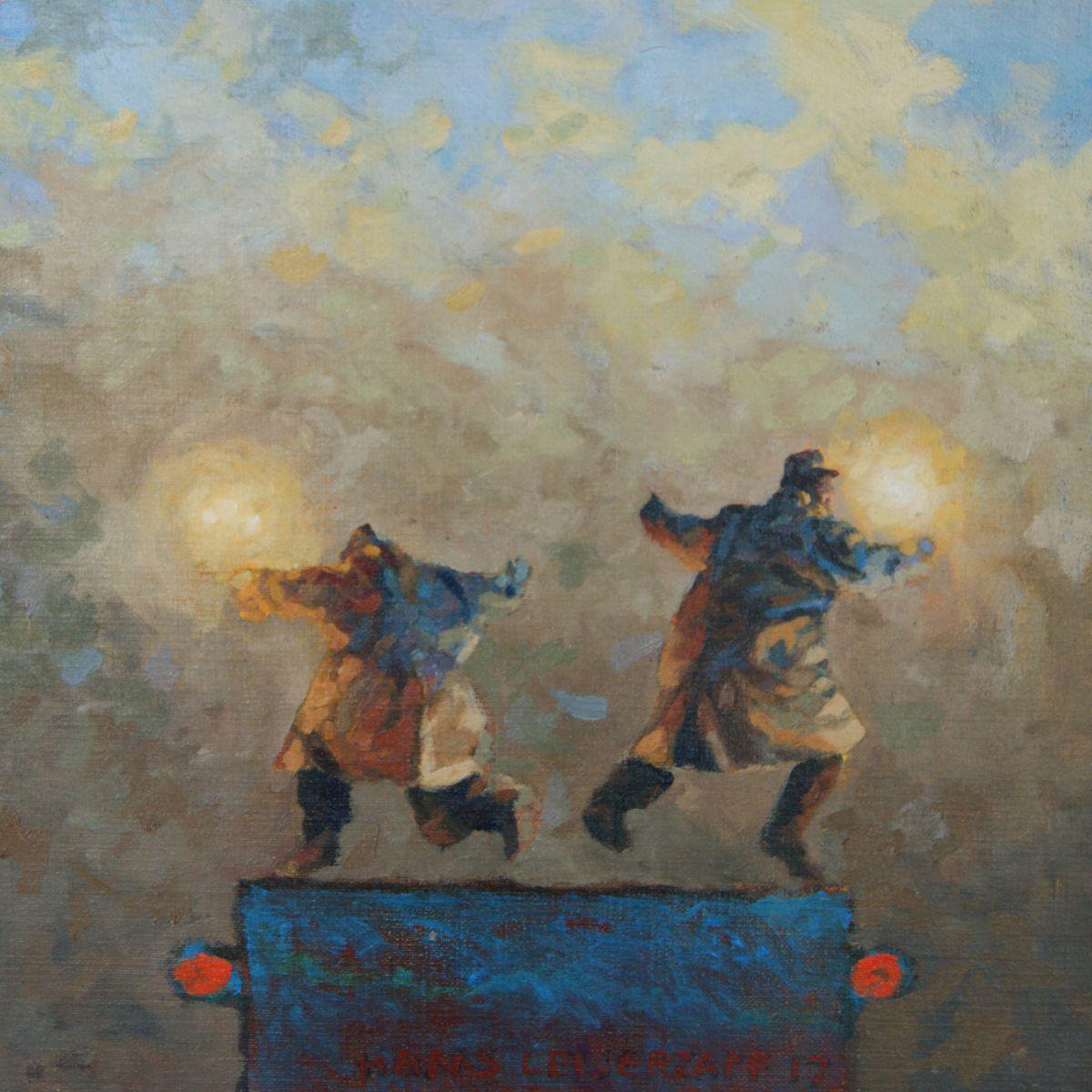 Kunst: Bij gebrek aan regels van kunstenaar Hans Leijerzapf