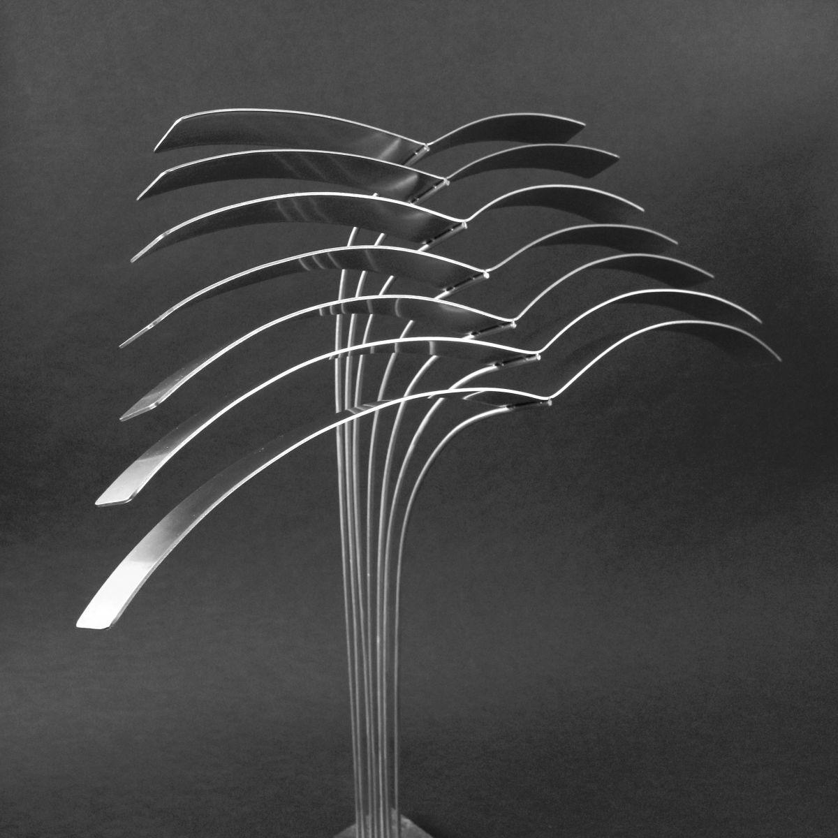 Kunst: Birds in Rhythm van kunstenaar Bert Verboon