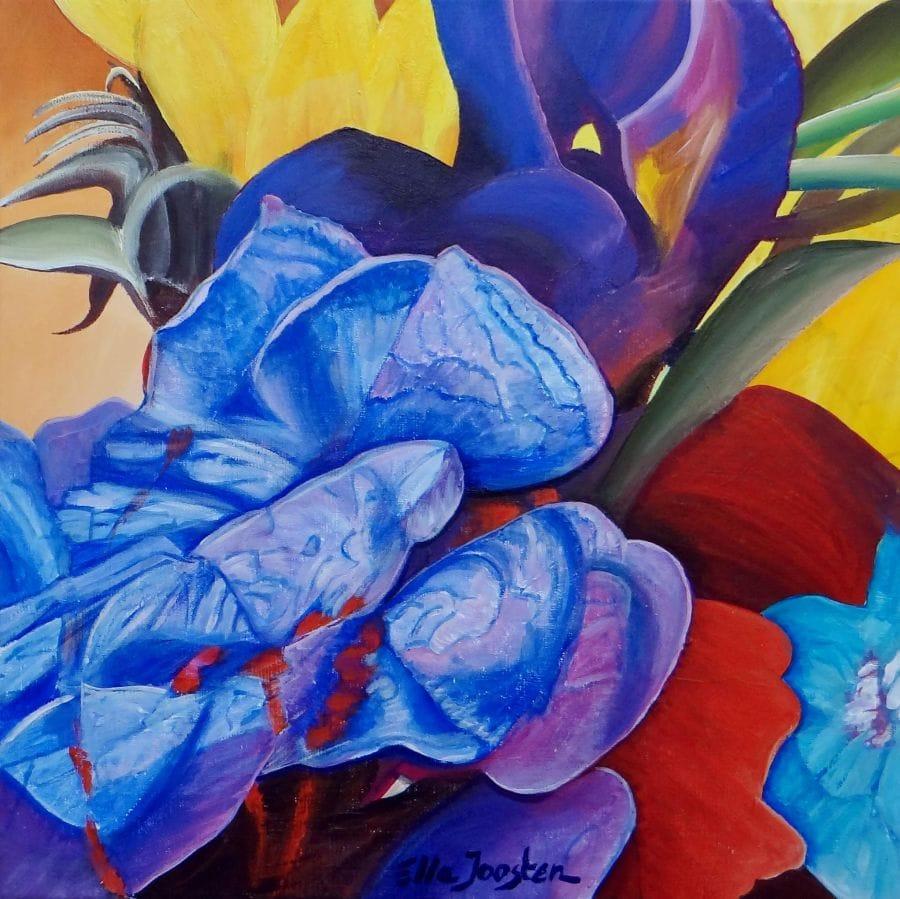 Kunst: Bl5 van kunstenaar Ella Joosten