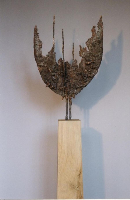 Kunst: Blad van kunstenaar Tina Lintvelt