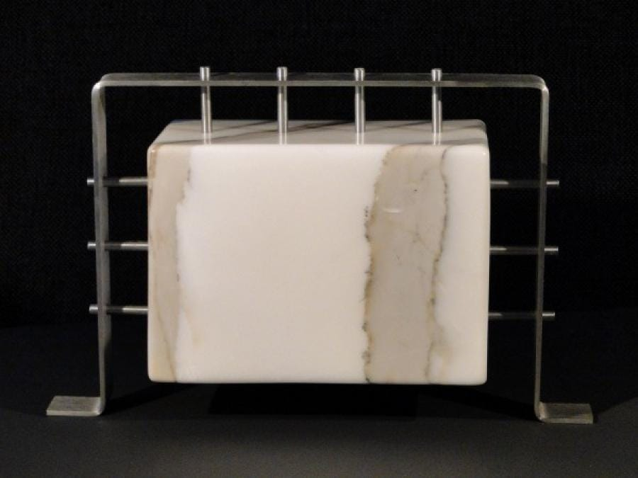 Kunst: Block in Frame van kunstenaar Bert Verboon