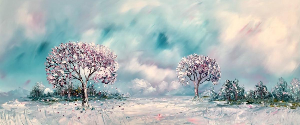 Kunst: Blue Dream van kunstenaar Gena n Gena