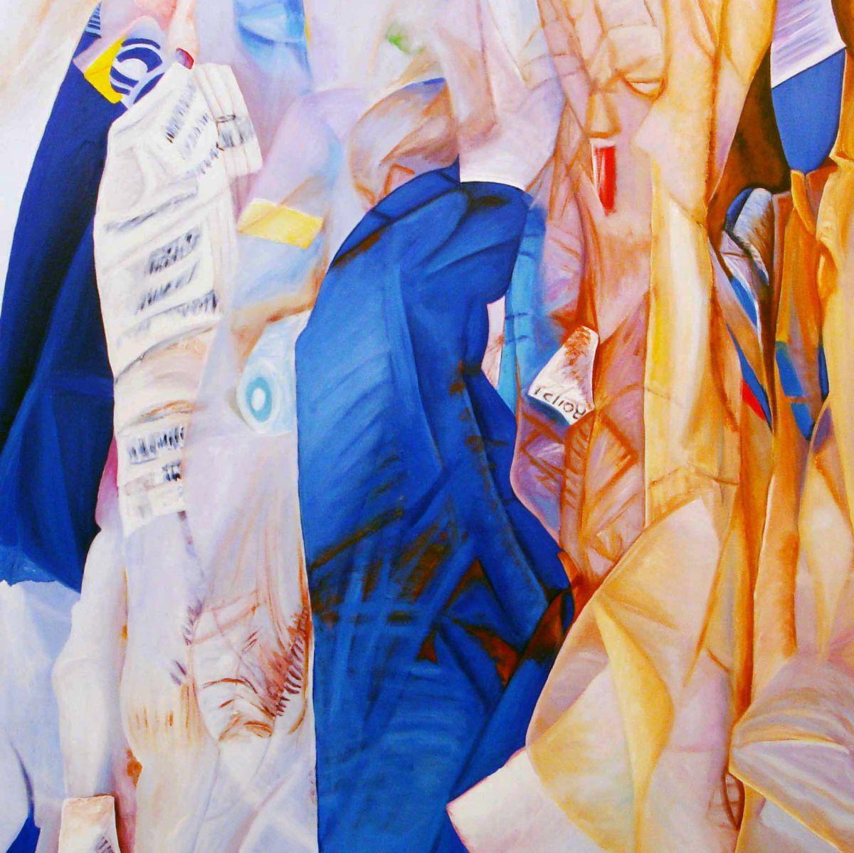 Kunst: BluePrint van kunstenaar Ella Joosten