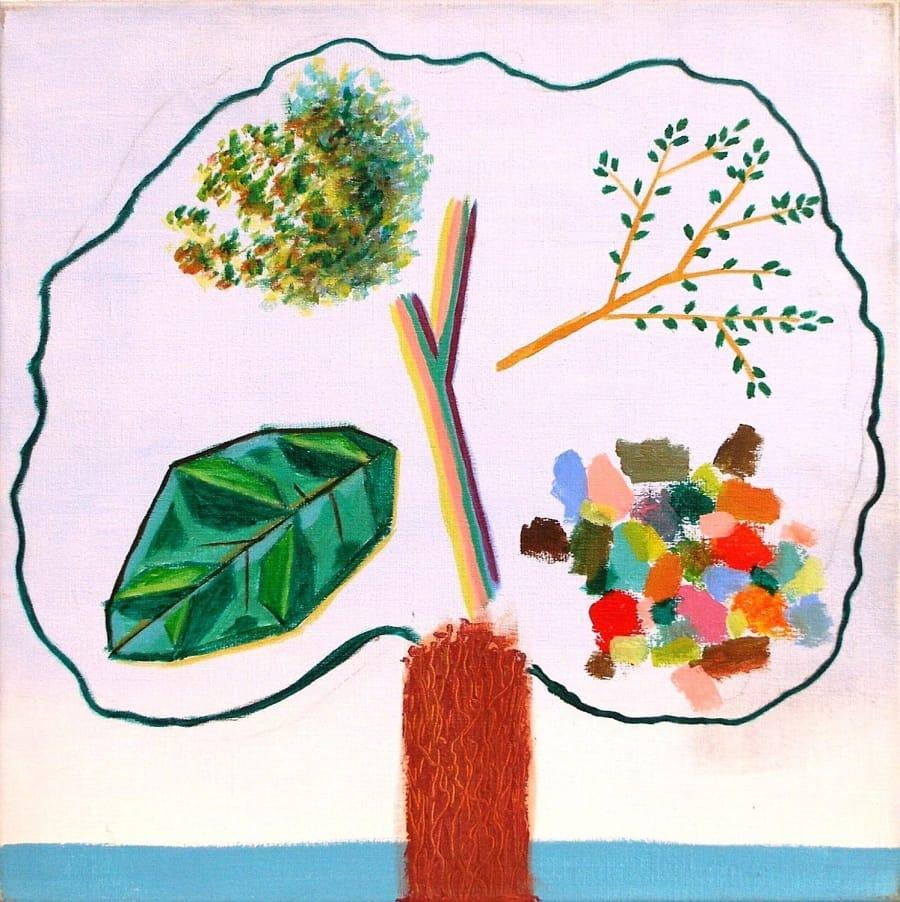 Kunst: boom met identiteitscrisis van kunstenaar Leo Wijnhoven