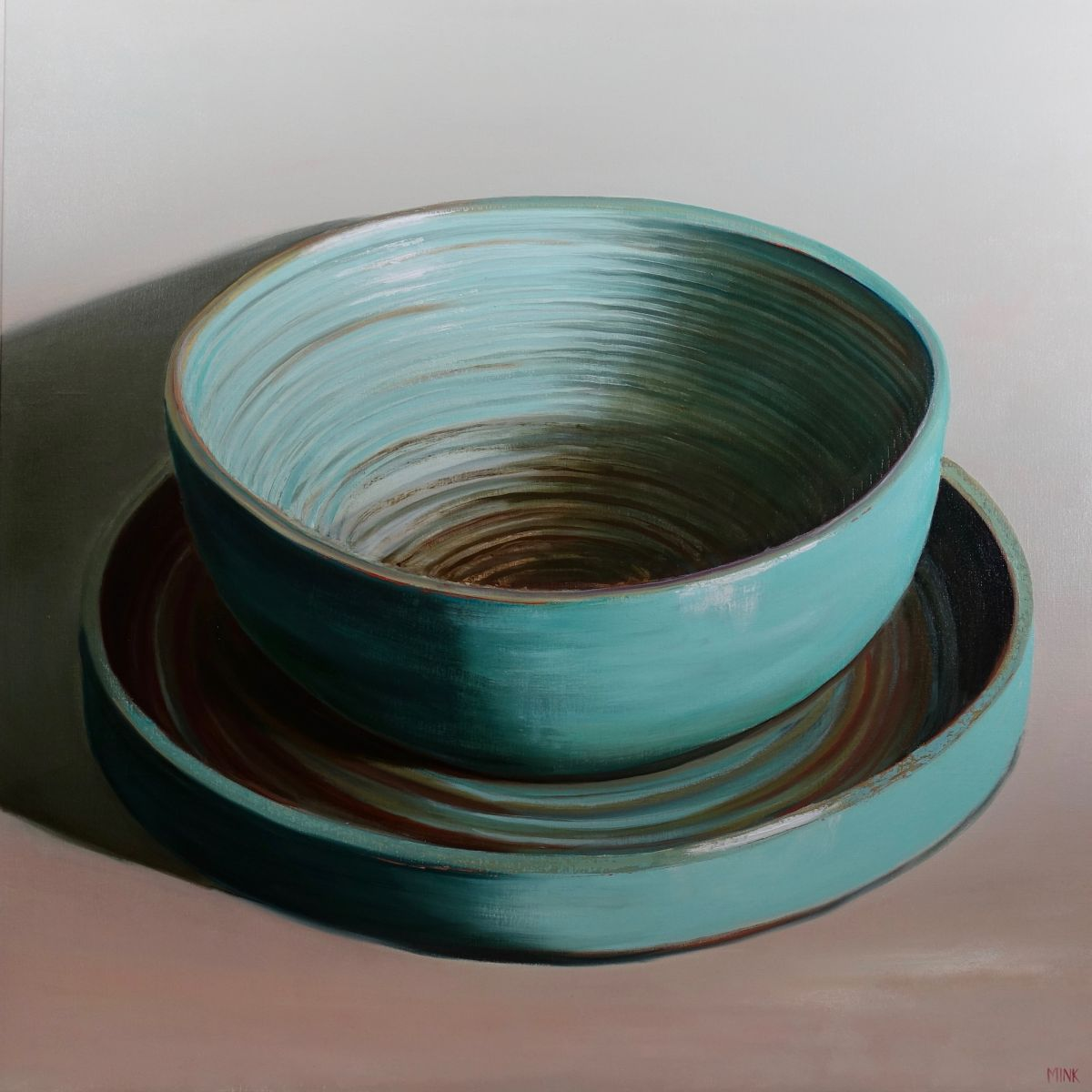 Kunst: The Hague – Plate and Bowl van kunstenaar Minke Buikema