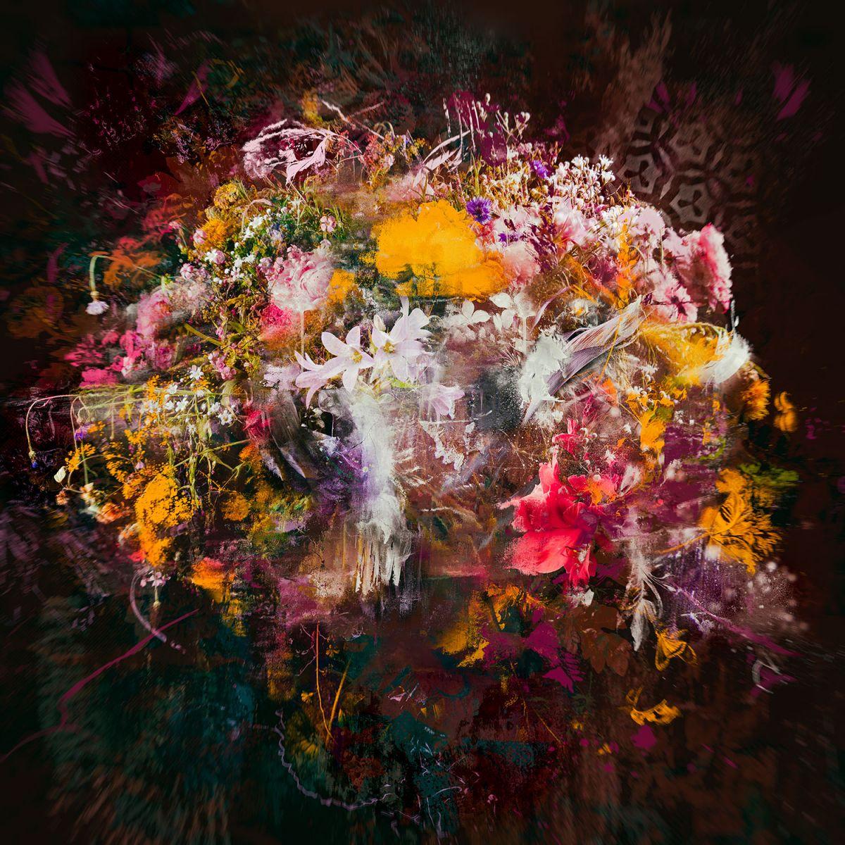 Kunst: Bouquet XXIII van kunstenaar Teis Albers
