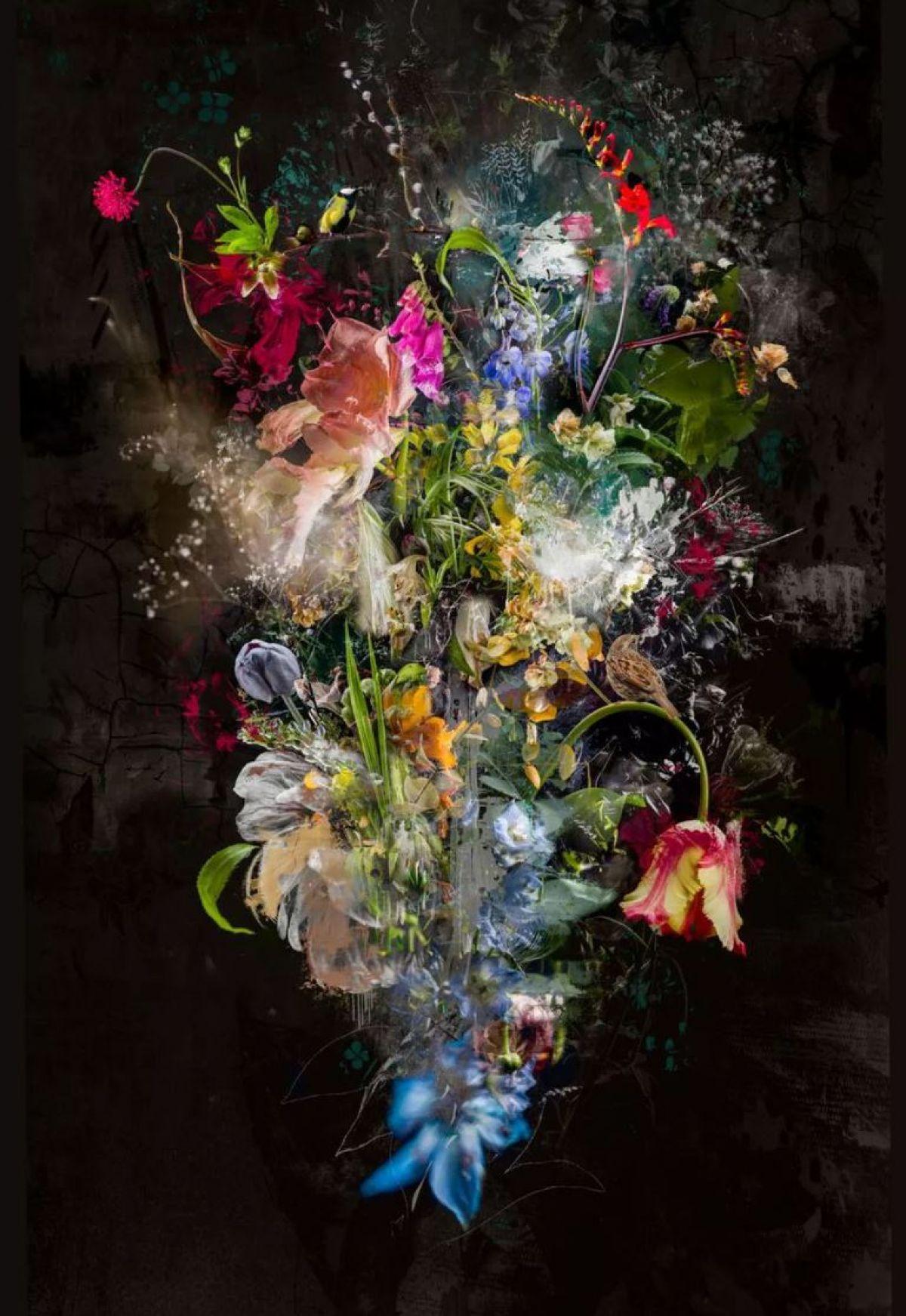Kunst: Bouquet XXIV van kunstenaar Teis Albers