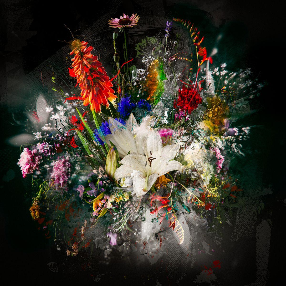 Kunst: Bouquet XXV van kunstenaar Teis Albers