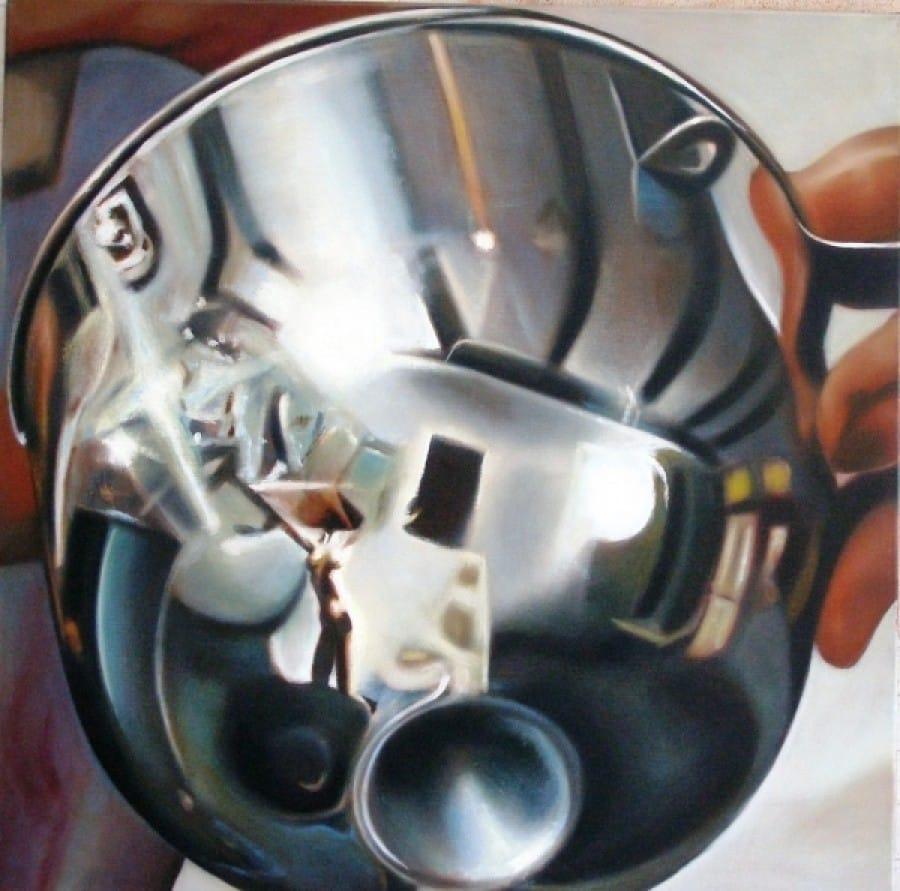 Kunst: Bullit van kunstenaar Leo Wijnhoven