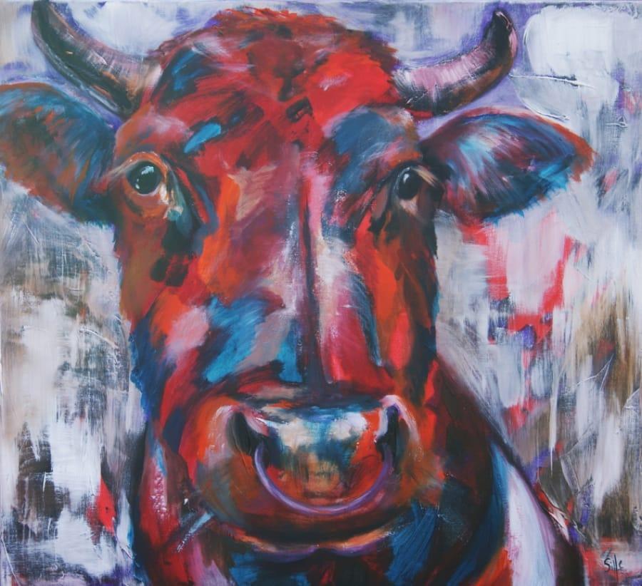 Kunst: Bullock II van kunstenaar Tamara Sille