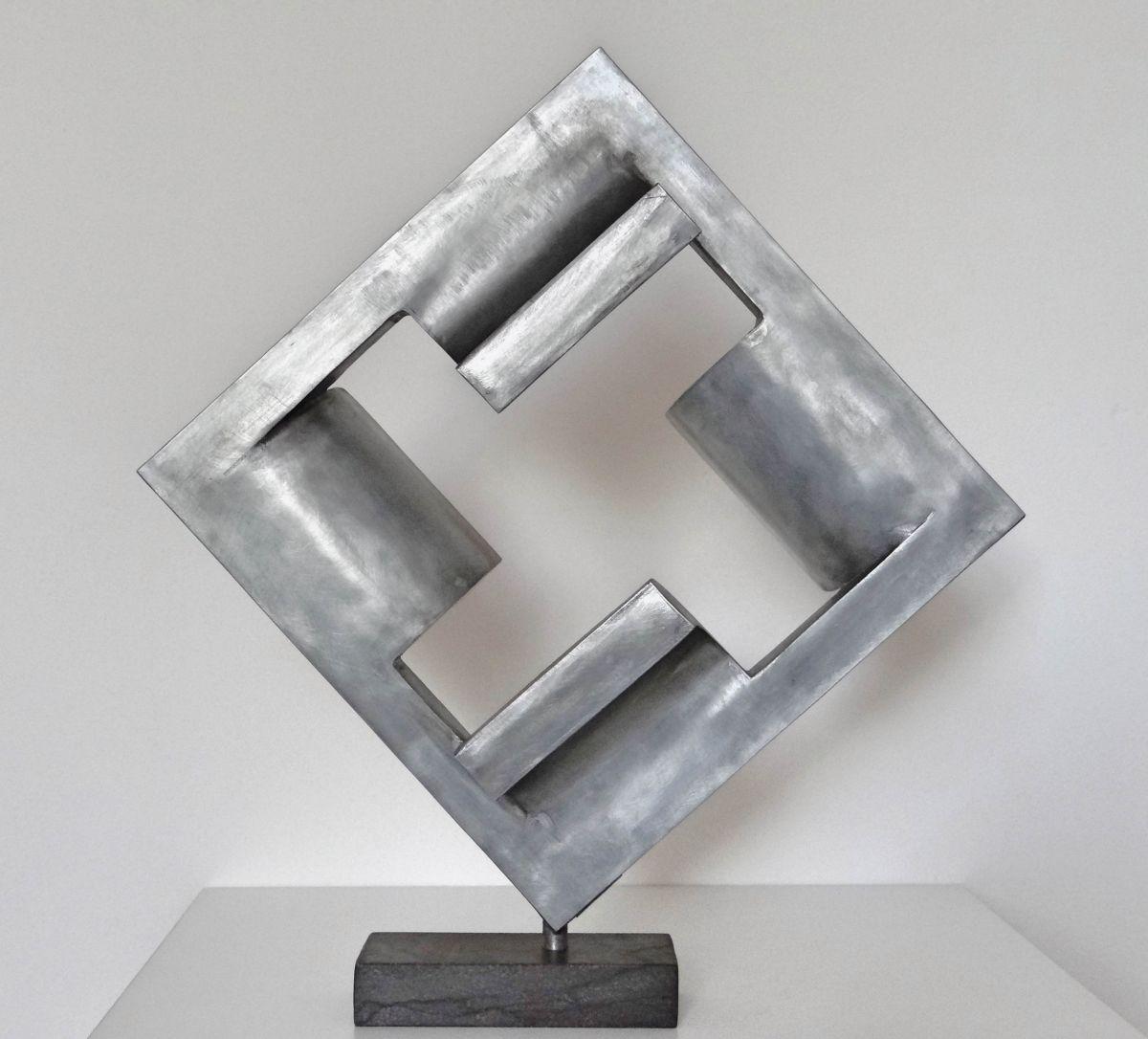 Kunst: Burst I van kunstenaar Han Lammers