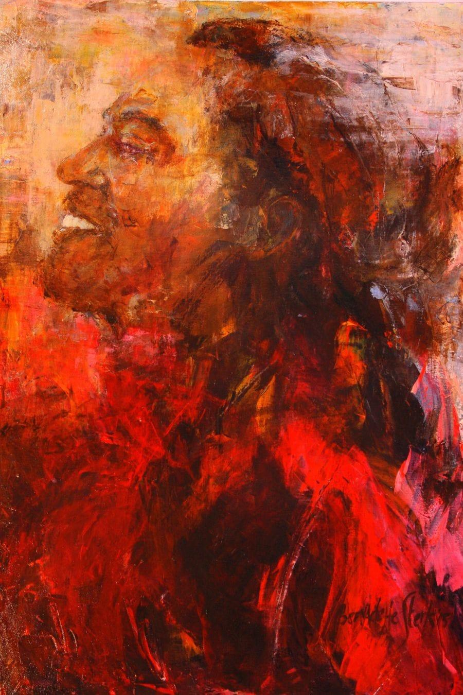 Kunst: Carmine van kunstenaar Bernadette Sterk