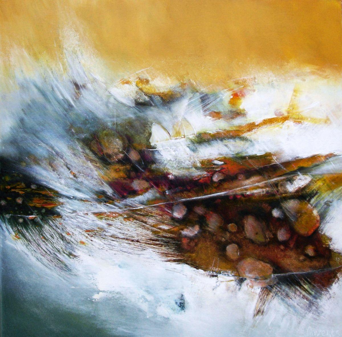 Kunst: Cascade van kunstenaar Sietse Goverts