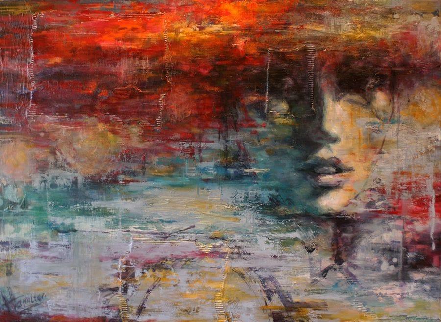 Kunst: Catch me if you can van kunstenaar Evelyn Hamilton