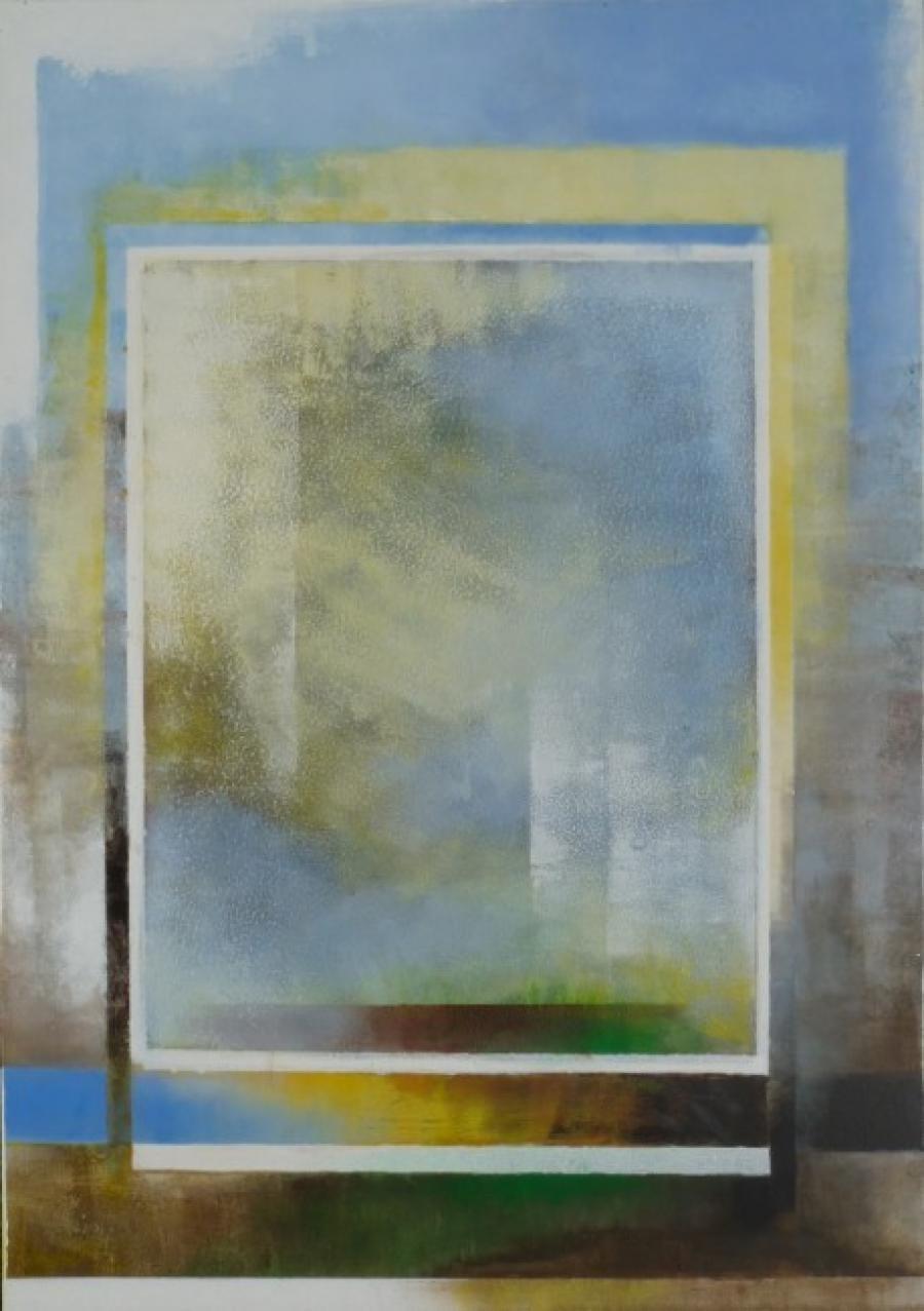 Kunst: ceruleumblauw 1 van kunstenaar Koeno Jansen