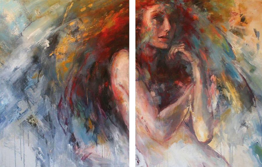Kunst: C'est ma vie van kunstenaar Evelyn Hamilton