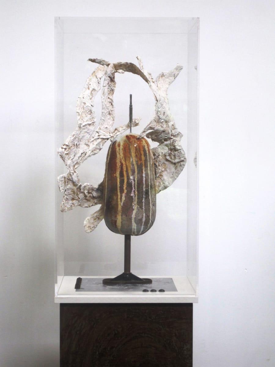 Kunst: Channel of life van kunstenaar Toos van Poppel