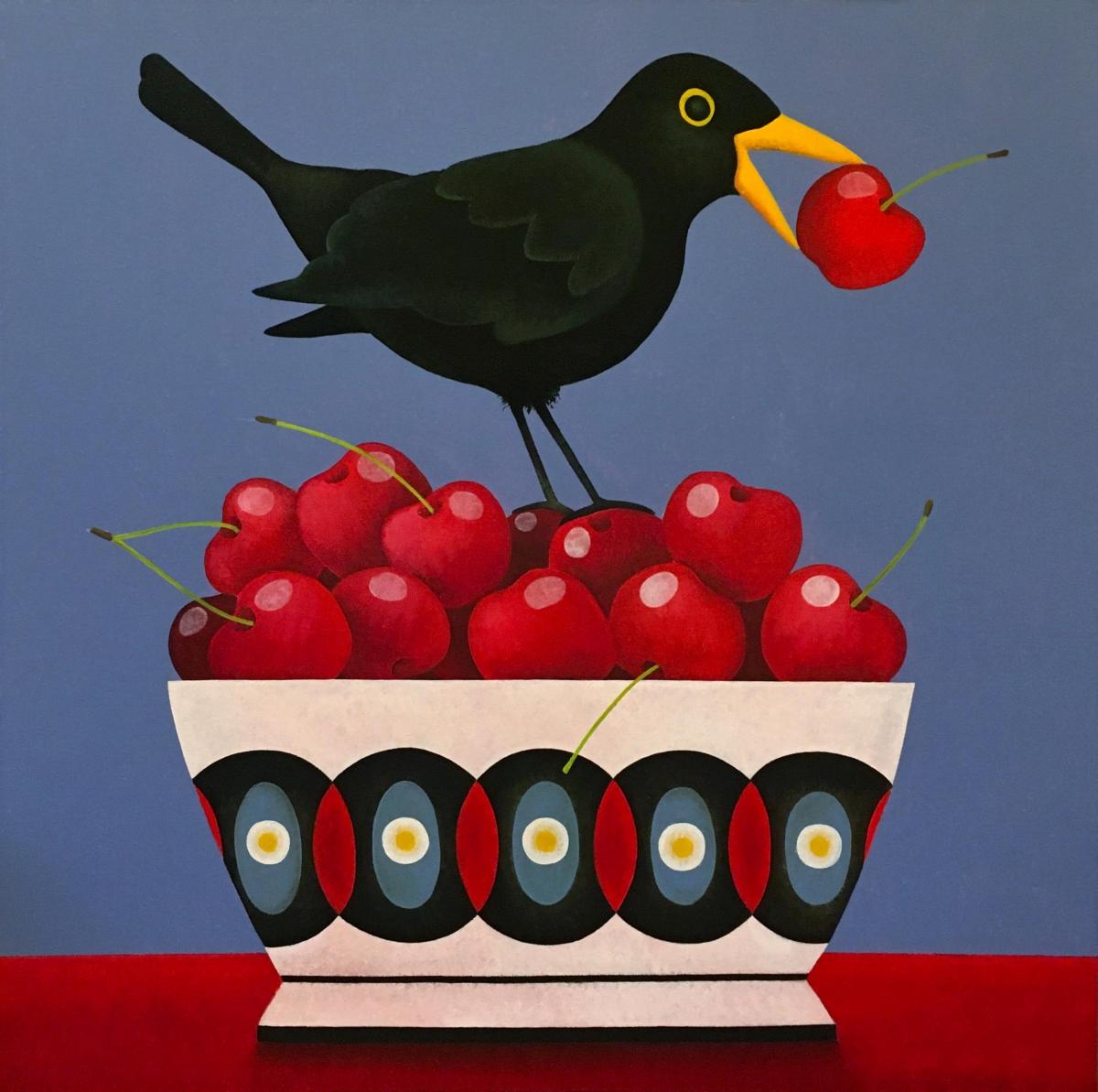 Kunst: Cherry Love van kunstenaar Yvonne Zomerdijk