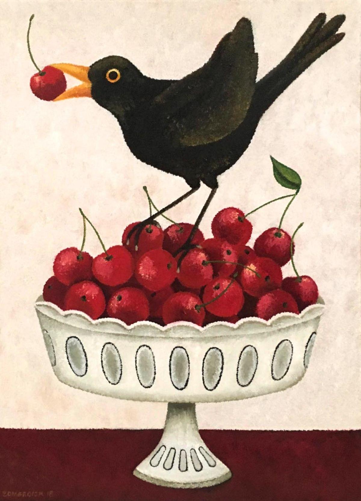 Kunst: Cherry picking van kunstenaar Yvonne Zomerdijk