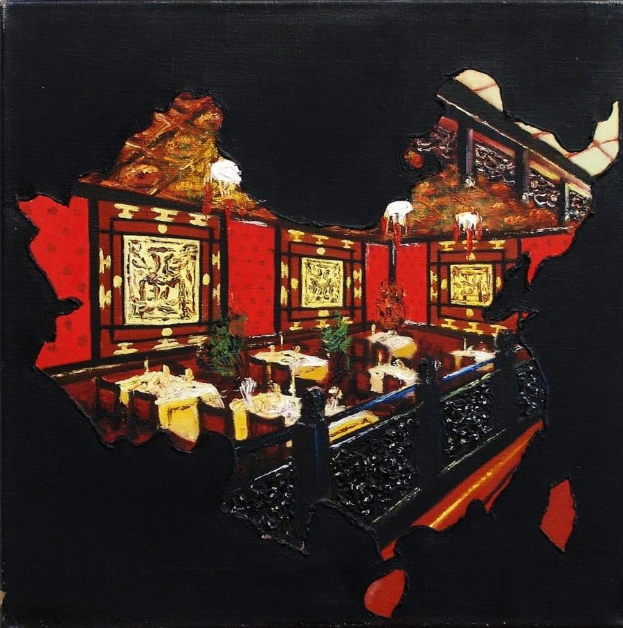 Kunst: chinees van kunstenaar Leo Wijnhoven