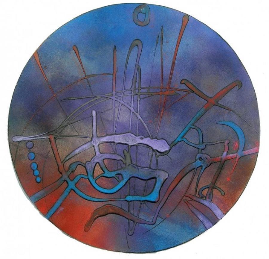 Kunst: cirkel van kunstenaar Koeno Jansen