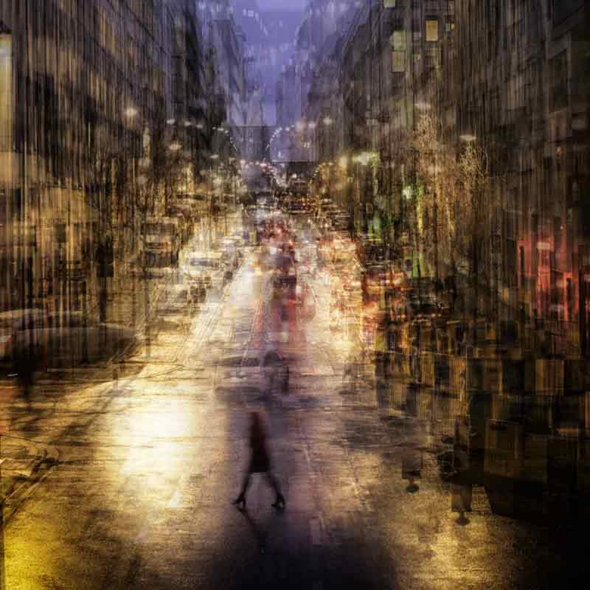 Kunst: City- Live II van kunstenaar Thomas Vanoost