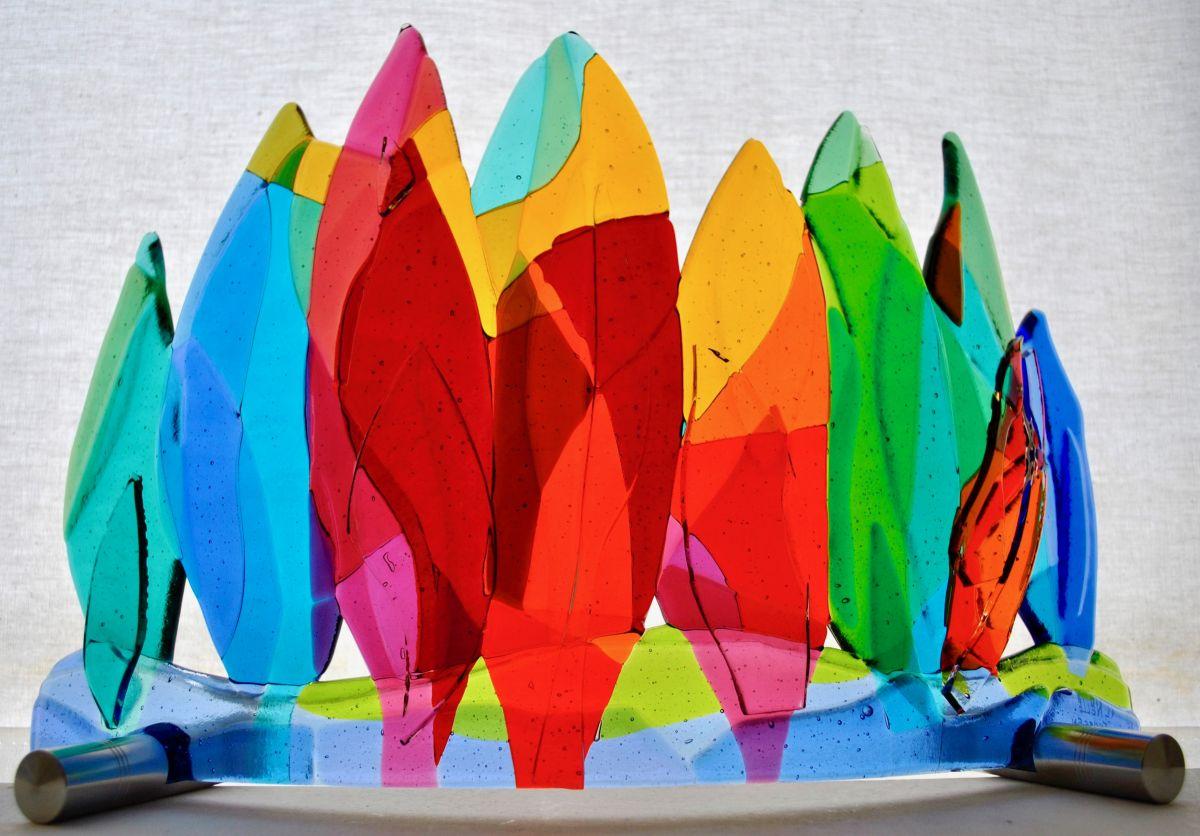 Kunst: colorful 1 van kunstenaar Angenelle Thijssen