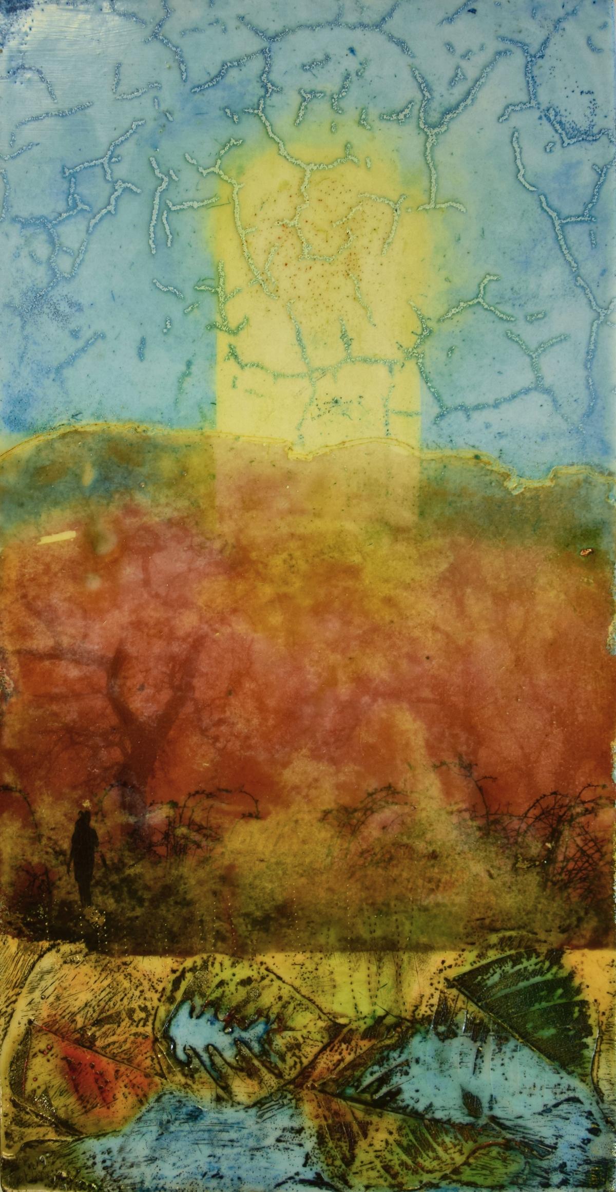 Kunst: Colorful Autumn van kunstenaar Trijnie Mohlmann