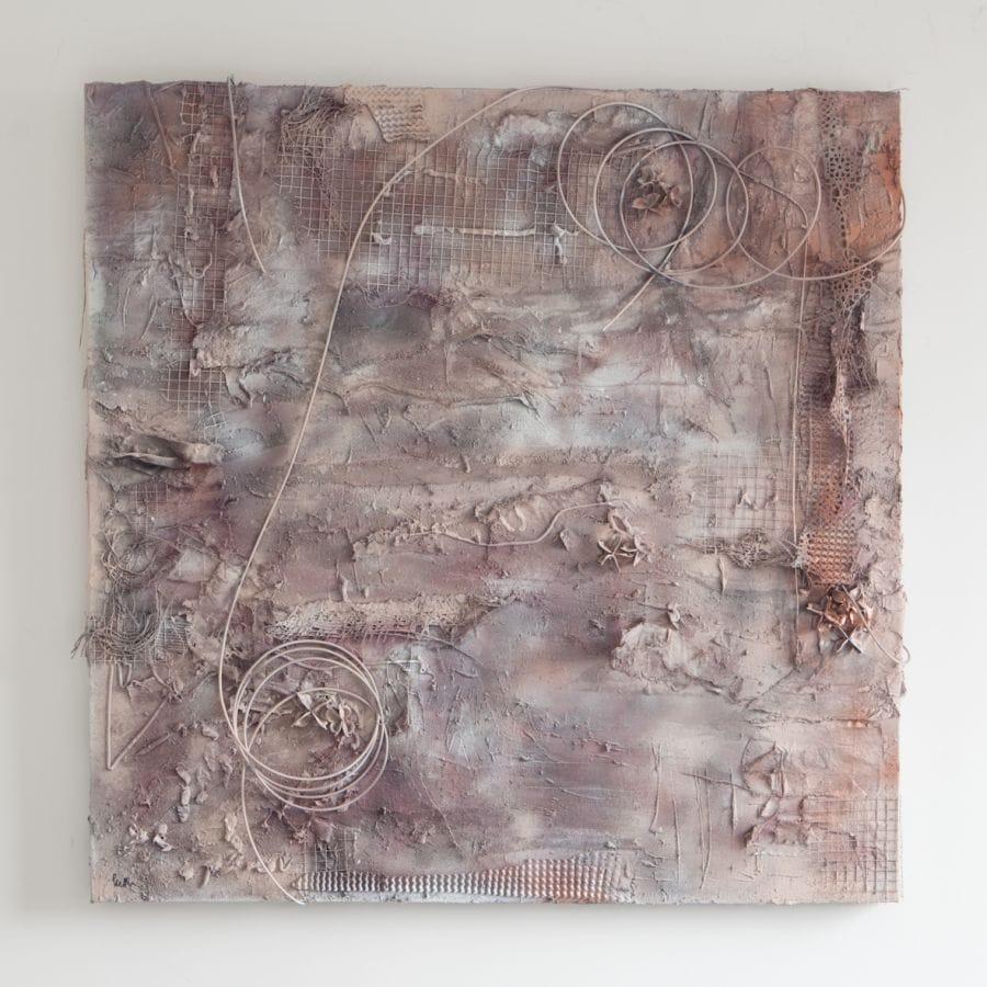 Kunst: Composition of trash van kunstenaar Ketlin van Esschoten