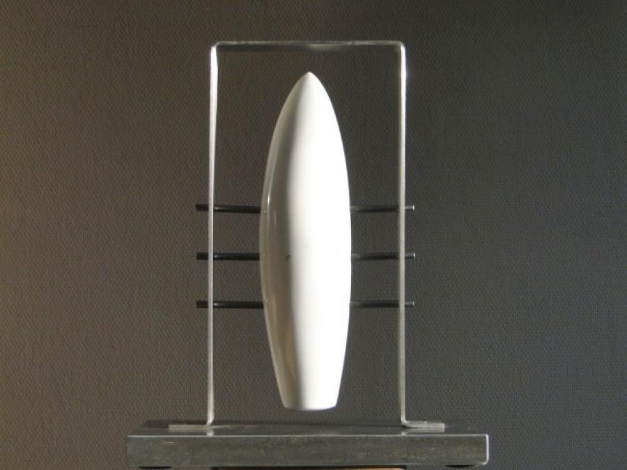 Kunst: Cone in Frame van kunstenaar Bert Verboon