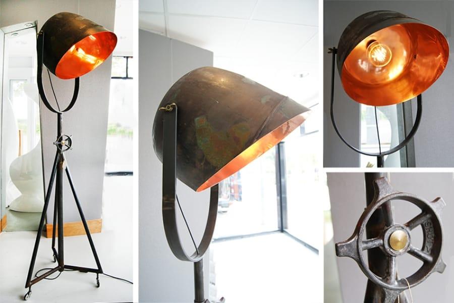Kunst: Cookmaster on industrial tripod van kunstenaar Stef van der Bijl