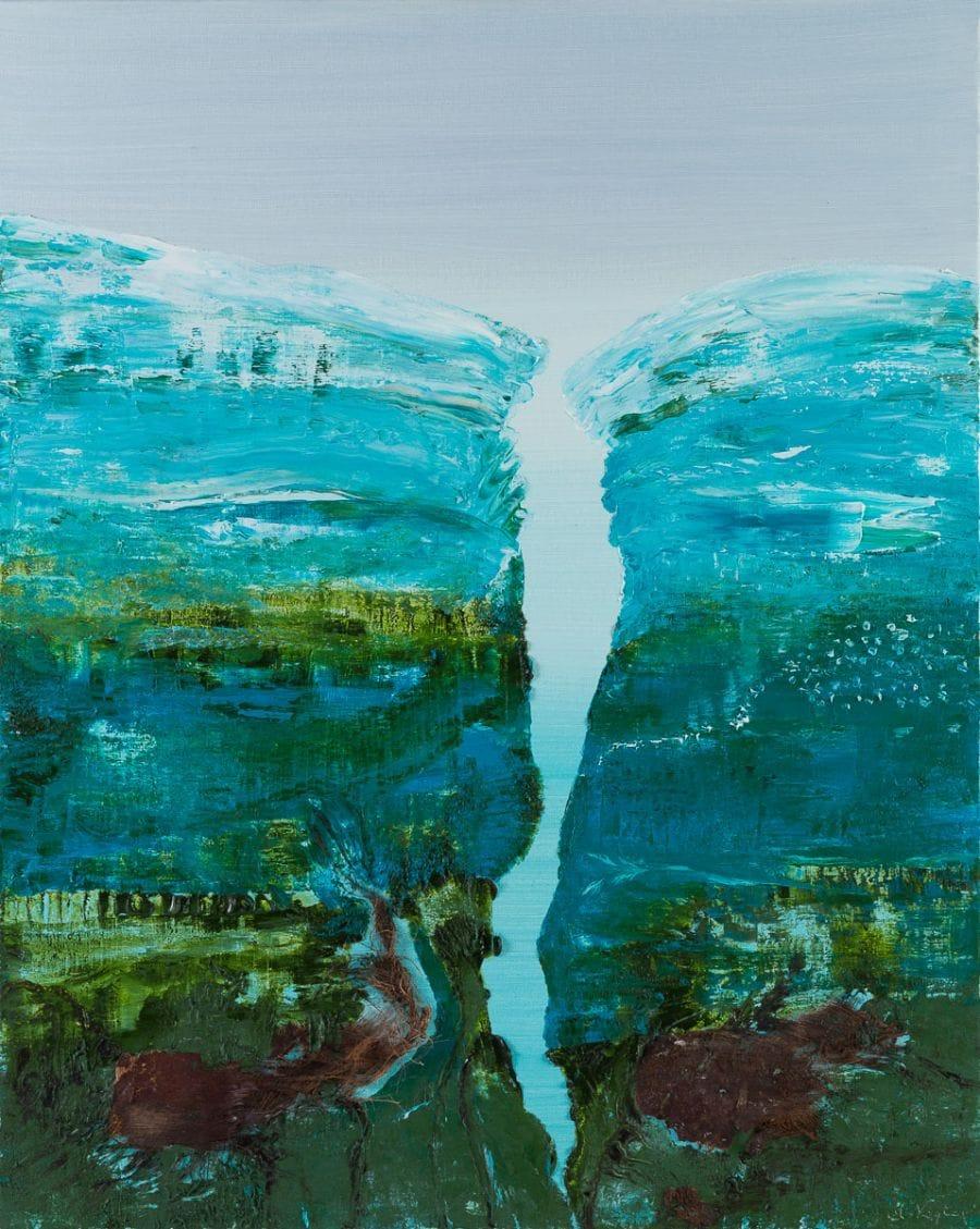 Kunst: Crawling in the deep van kunstenaar Els Vegter