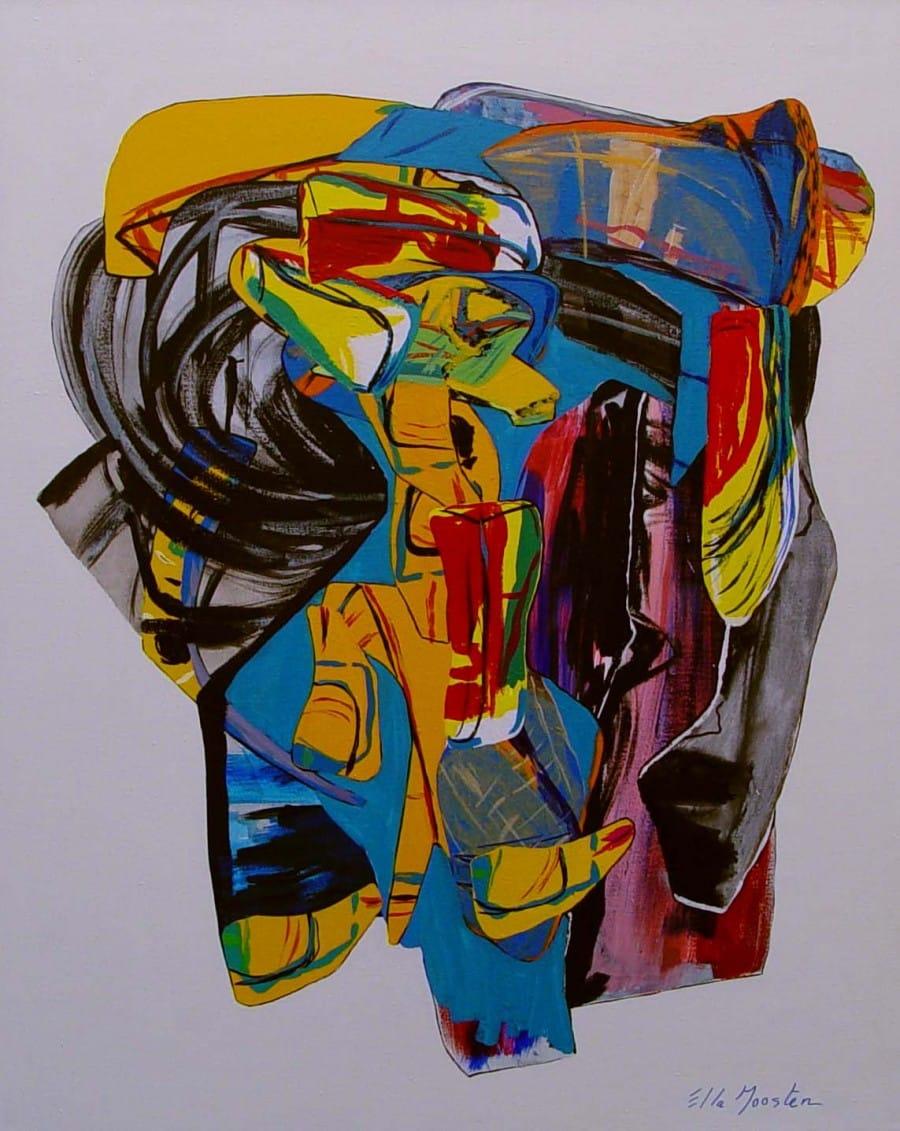 Kunst: CrossDomain van kunstenaar Ella Joosten