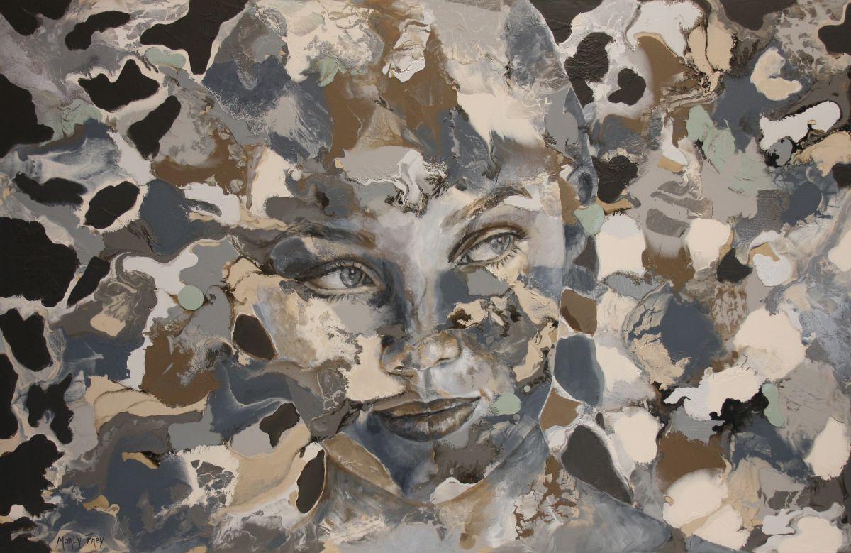 Kunst: Curiosity van kunstenaar Marly Freij(portretten)
