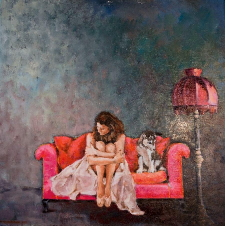 Kunst: Daar hebben we het nog wel eens over van kunstenaar Miranda Karskens