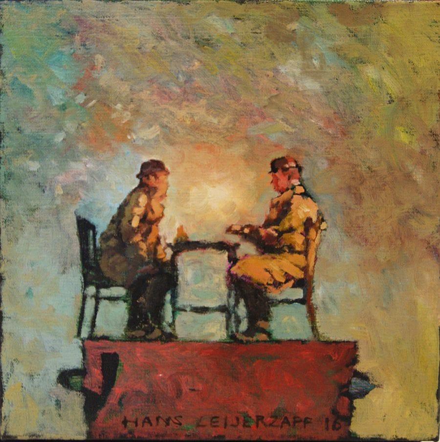 Kunst: Daar zit 't 'm niet in van kunstenaar Hans Leijerzapf