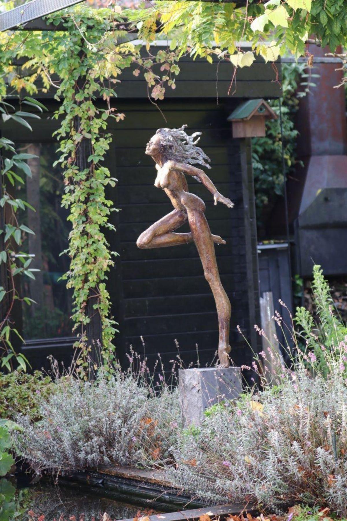 Kunst: Dansen met de wind van kunstenaar Lilian Steenhuisen