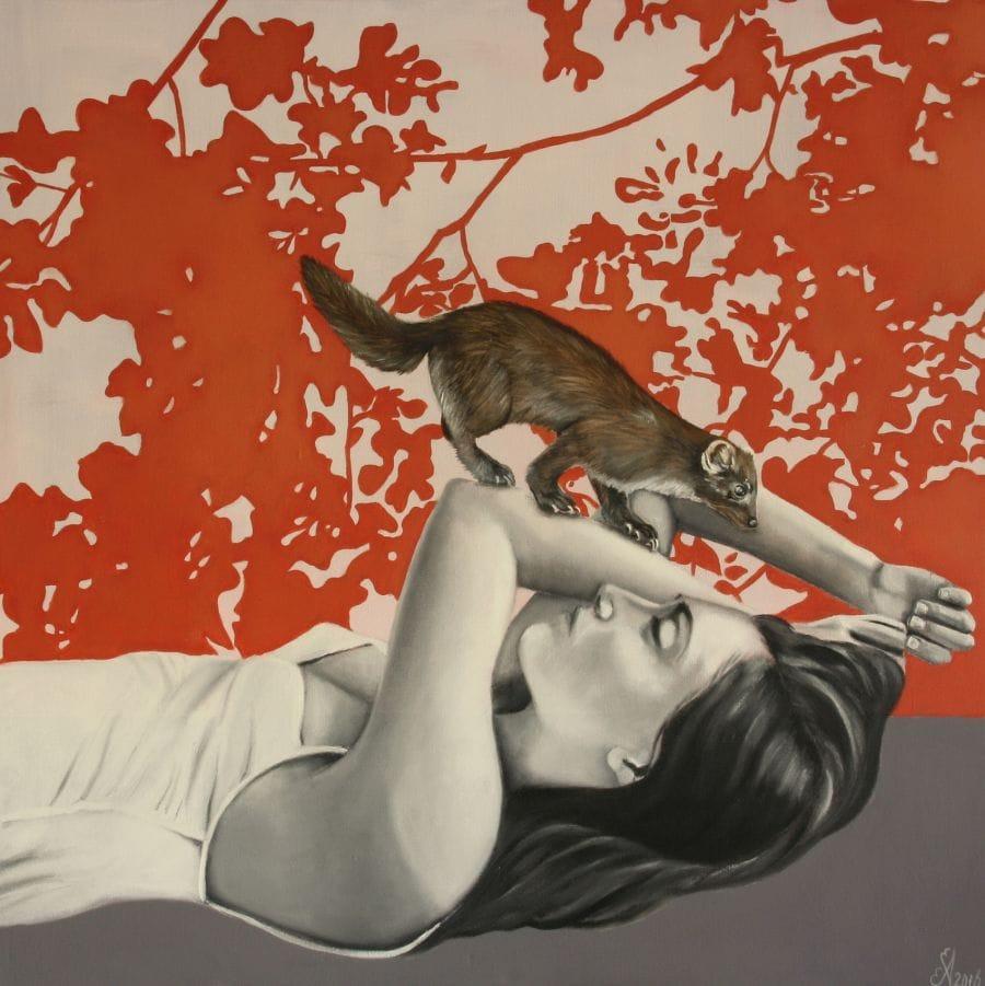 Kunst: Dawn van kunstenaar Angelique-Mathijssen-van-den Bosch