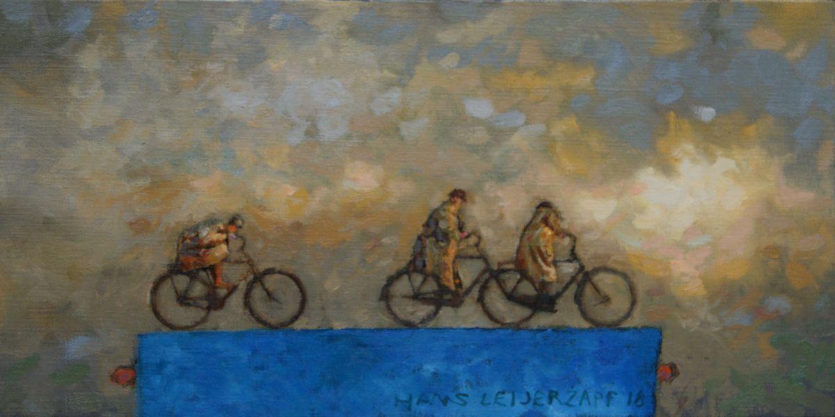 Kunst: De aanklamper van kunstenaar Hans Leijerzapf